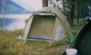 accampamento carpfishing